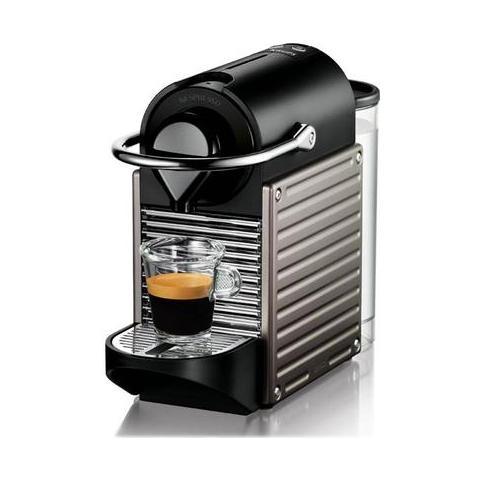 XN3005 Macchina Caffè Nespresso Pixie Serbatoio 0,7 Litri Potenza 1260 Watt Colore Titanio