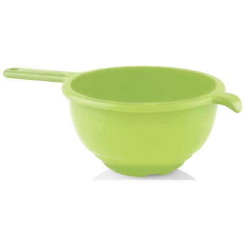 Scolapasta con Manico Verde 24 cm