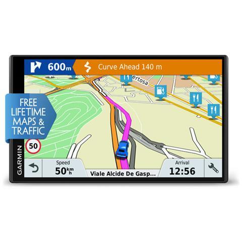 DriveSmart 61 Navigatore GPS Display 6.95'' Mappe Europa Occidentale e infotraffico a Vita
