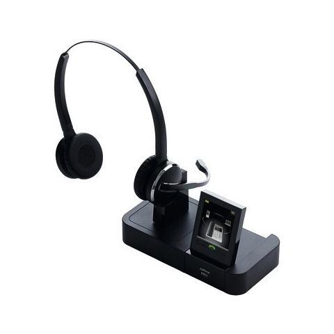 JABRA Cuffie Jabra PRO 9460 Wireless DECTStereo - Over-the-head - Semi-Aperto - 150 m