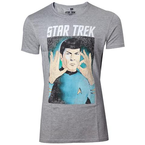 BIOWORLD Star Trek - Respect The Logic (T-Shirt Unisex Tg. M)
