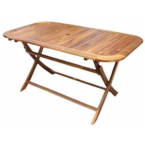 Tavolo in Legno di acacia Pieghevole