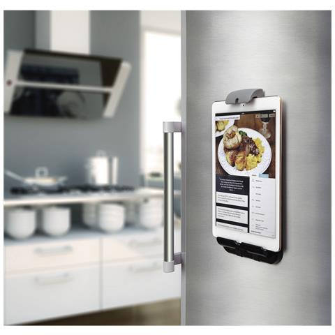 HAMA 00108355 Universale Passive holder Nero, Grigio supporto per personal communication