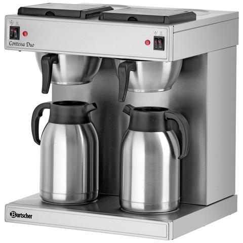 190049 Macchina per caffè a filtro all'americana doppia Contessa Duo 3.3 kW