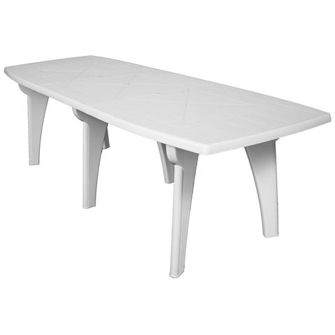 Tavolo 250x90 Cm Bianco Lipari Ii