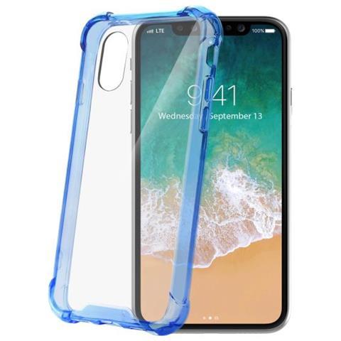 CELLY Cover per Iphone X Colore Trasparente