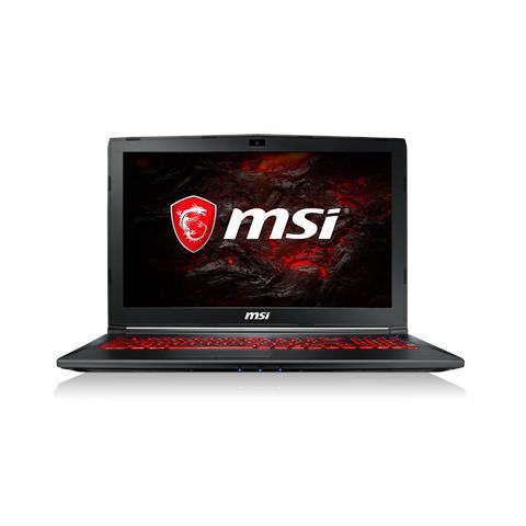 """MSI Notebook GL62M 7REX-2485IT Monitor 15.6"""" Full HD Intel Core i5-7300HQ Ram 8GB Hard Disk 1TB Nvidia GeForce GTX 1050 Ti 4GB 3xUSB 3.0 Windows 10 Home"""