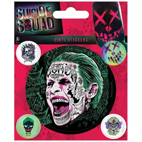 PYRAMID Dc Comics: Suicide Squad - The Joker (set Adesivi 12,5x10 Cm)