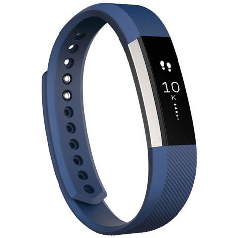 Fitbit Alta Braccialetto con Display Touch per Attività quotidiane e Sonno misura Large - Blue