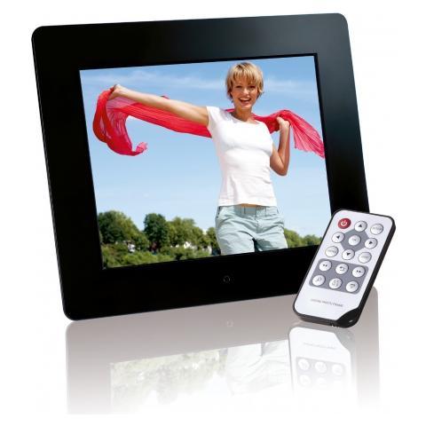 Cornice Digitale 3914800 Display 8'' Formato 16:9 Lettore SD / SDHC / MMC / MS Colore Nero