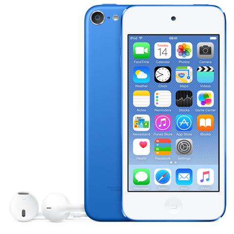 Image of iPod Touch 16GB Display Retina 4'' IPS Multi-Touch Fotocamera 8Mpx con AirPlay iCloud Bluetooth / Wi-Fi Colore Blu