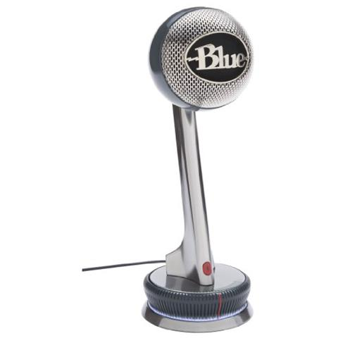 BLUE MICROPHONES Nessie Microfono Adattivo Professionale Usb per Windows e Mac