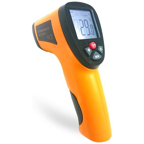 Dispositivo Di Misurazione Della Temperatura Portatile Con Termometro Digitale A Infrarossi Senza Contatto Ir