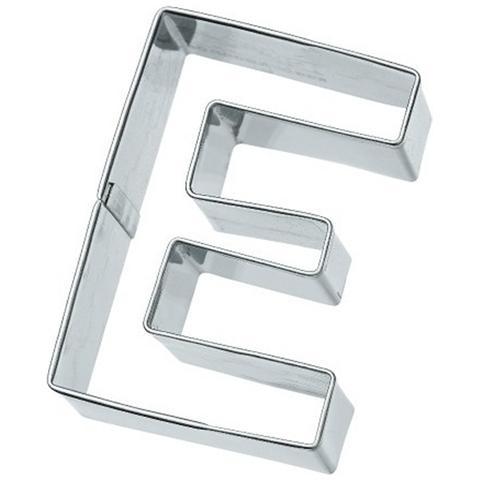 Tagliapasta Lettera E In Metallo 6 Cm