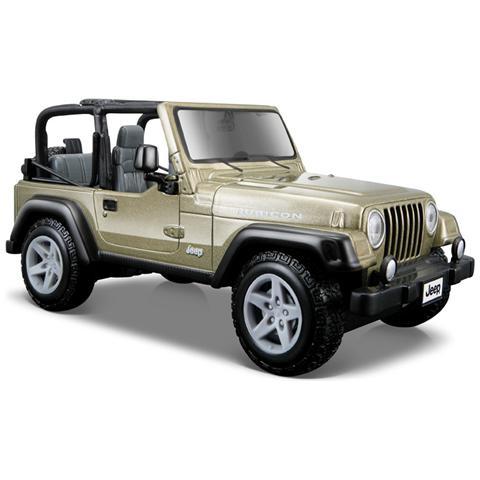 MACDUE Modellino Jeep Wrangler Rubicon Scala 1:24