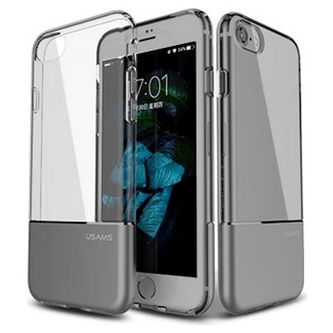 Usams Custodia Cover Di Protezione Ease Hard Case Grey Per Iphone 7
