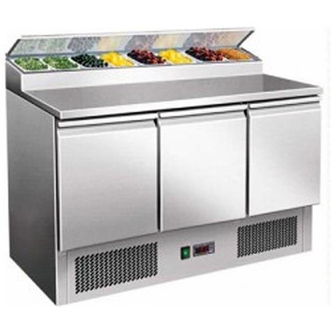 Saladette Refrigerata Statica 3 Porte