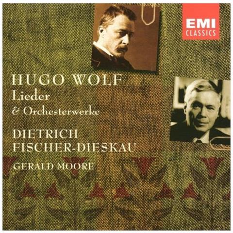 WARNER BROS Fischer-dieskau Dietrich / Moore - Hugo Wolf: Songs And Orchestral Works (7 Cd)
