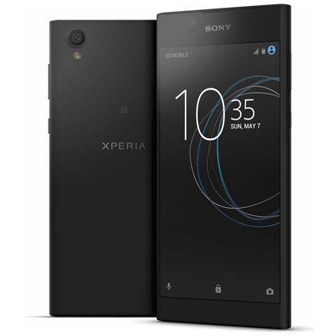 "SONY Xperia L1 Nero 16 GB 4G/LTE Display 5.5"" HD Slot Micro SD Fotocamera 13 Mpx Android Italia"