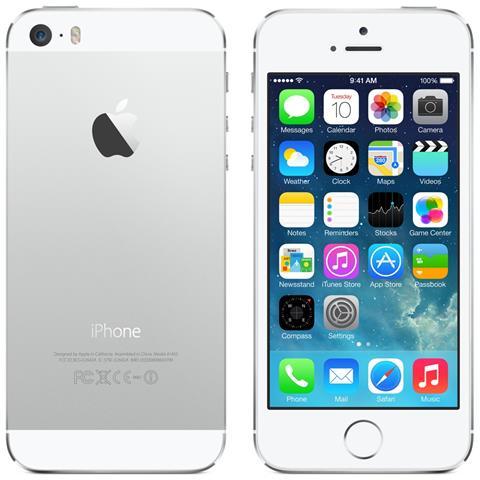 APPLE iPhone 5s Argento 16 GB RICONDIZIONATO