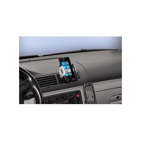 HAMA 00108103 Auto Passive holder Nero, Argento supporto per personal communication