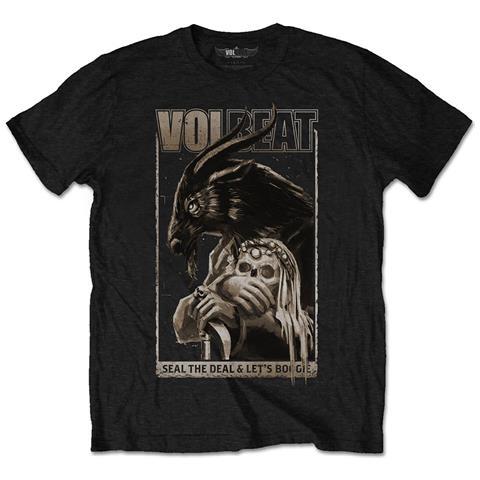 ROCK OFF Volbeat - Boogie Goat (T-Shirt Unisex Tg. S)