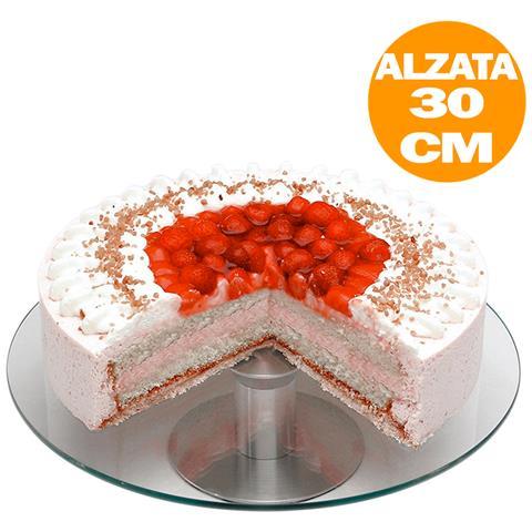 Alzata Per Torta Vetro Girevole 360 Trento Collection Dolci Desser Presentazione