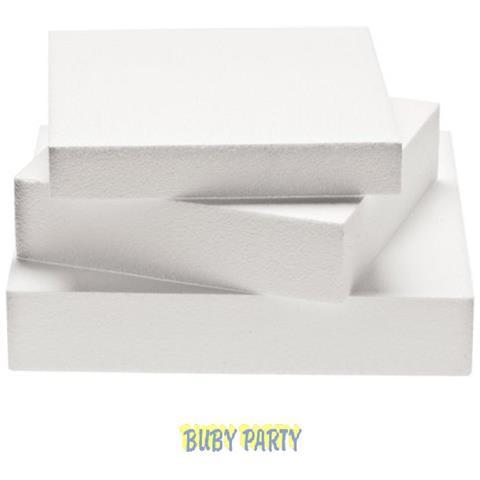 Basi Di Polistirolo Rettangolare Alte 7,5 Cm Cake Design - Cm 30x40x7,5h