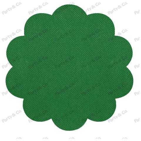 Conf. 10 Rosoni Tnt Cm 40 Verde Scuro