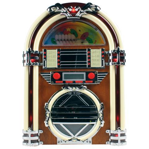 BASICXL Sistema Audio BXL-JB10 Lettore CD Radio FM / AM
