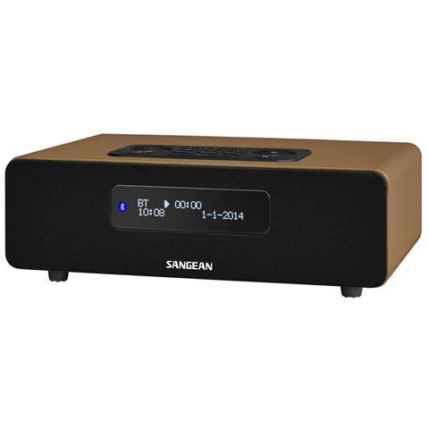 SANGEAN Radio Digitale DDR-36 Bluetooth Sintonizzatore DAB+ / FM Ingresso AUX colore Marrone