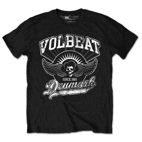 ROCK OFF Volbeat - Rise From Denmark (T-Shirt Unisex Tg. S)