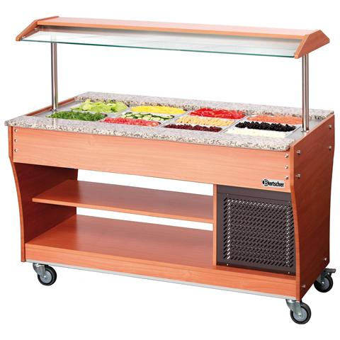 125513 Carrello Buffet refrigerato GN 4 x 1/1 236W