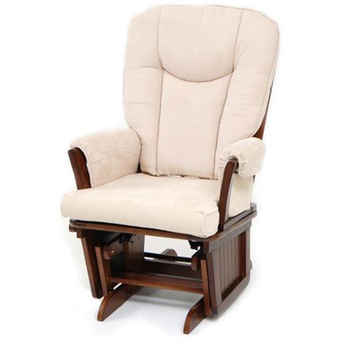 HOMEGARDEN Poltrona dondolo relax Dorothy beige 70x73xH107 cm