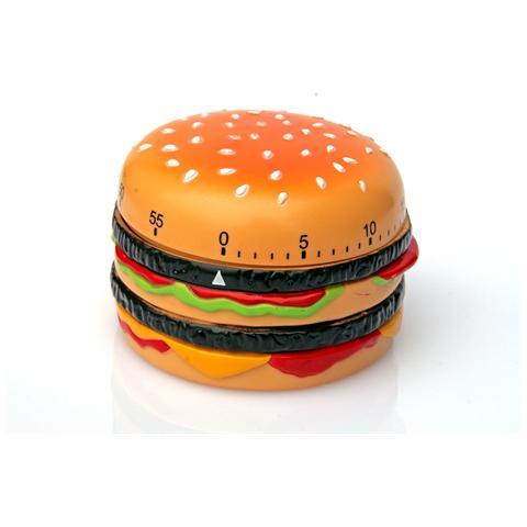 Contaminuti Timer Da Cucina A Forma Di Hamburger Cm 8x5