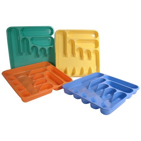 Pasabahce Portaposate 7ps Plastica Organizzazione Della Cucina