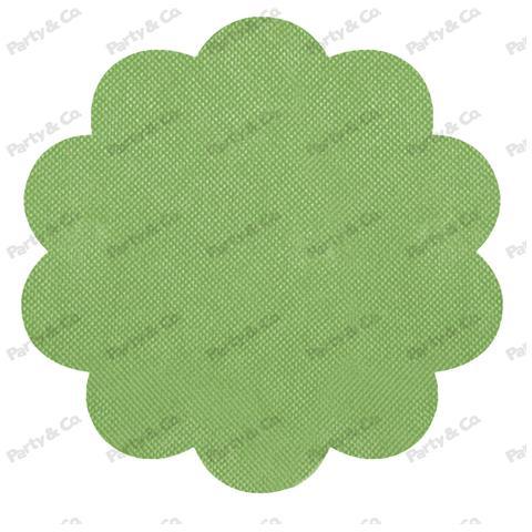 Conf. 10 Rosoni Tnt Cm 40 Verde Prato