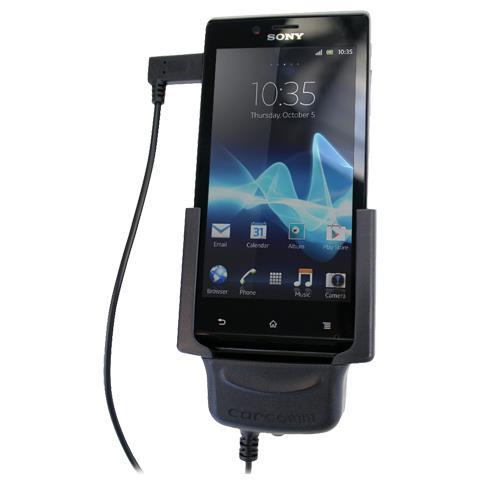 Carcomm CMBS-422 Auto Passive holder Nero supporto per personal communication