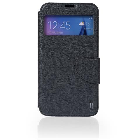 AIINO Custodia View per Samsung Galaxy S6 Edge - Black
