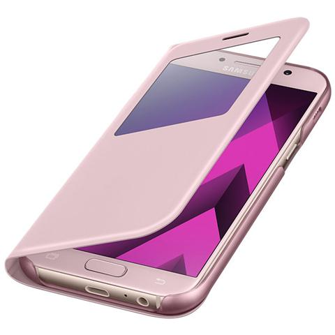 SAMSUNG S View Standing Cover per Galaxy A5 2017 - Rosa