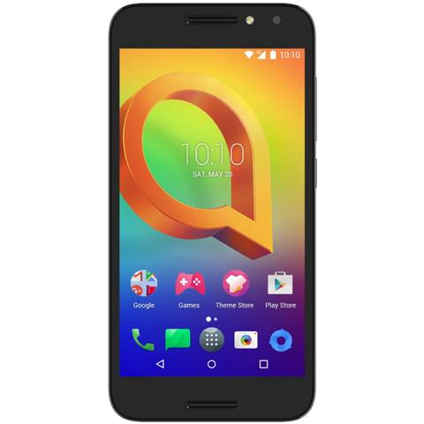 """ALCATEL A3 Nero 16 GB 4G / LTE Dual Sim Display 5"""" HD Slot Micro SD Fotocamera 13 Mpx Android Italia"""