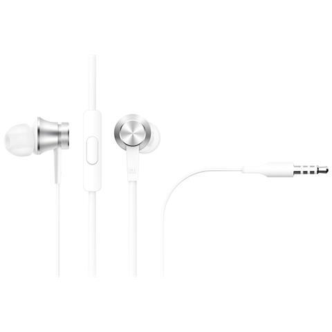 XIAOMI Auricolari Vivavoce Stereo Xiaomi Mi In-Ear 3,5 Mm Silver