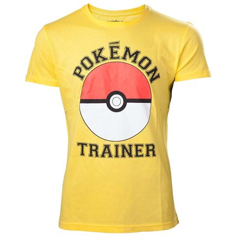 BIOWORLD Pokemon - Trainer Yellow (T-Shirt Unisex Tg. XL)