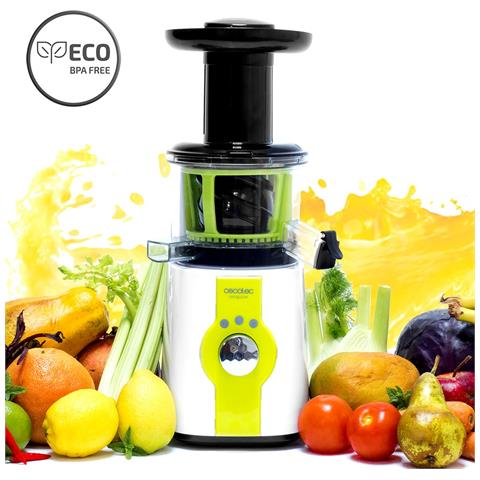 Centrifuga per frutta e verdura a freddo, 45giri / min, 150w, Cecojuicer Compact Xl