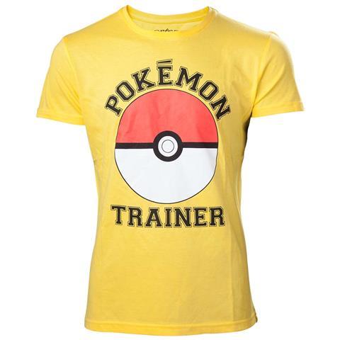 BIOWORLD Pokemon - Trainer Yellow (T-Shirt Unisex Tg. L)