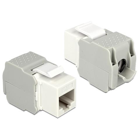 DeLOCK 86341 RJ-45 LSA Bianco cavo di interfaccia e adattatore