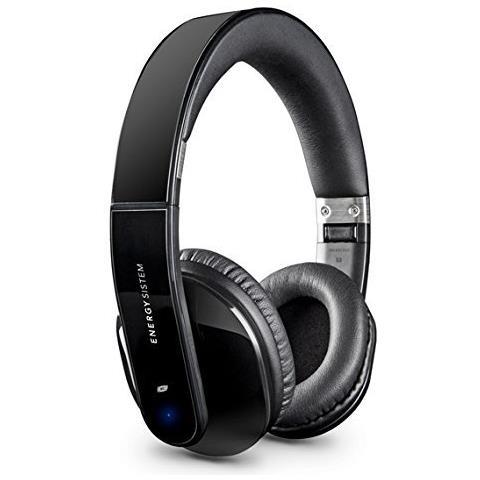 ENERGY SISTEM BT5+ Padiglione auricolare Stereofonico Cablato / NFC (Comunicazione in prossimità) / Bluetooth Nero auricolare per telefono cellulare