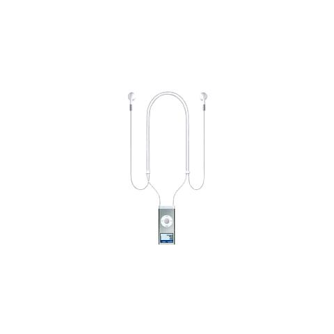 APPLE Lanyard Headphones for iPod nano 2G Bianco Intraurale cuffia