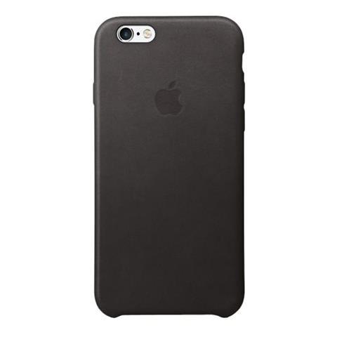 APPLE Custodia in Pelle per iPhone 6S Nero