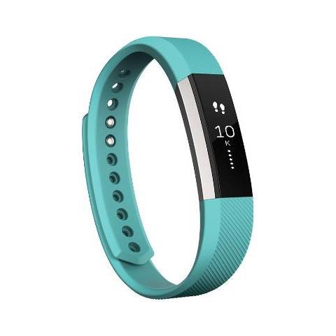 Fitbit Alta Braccialetto con Display Touch per Attività quotidiane e Sonno misura Small - Teal